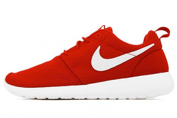 brand new 7dacf 02191 Nike Roshe Run solid color